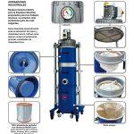 Aspirador industrial con filtro para amianto