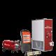 Generadores de aire calientes para grandes volúmenes