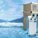 aire acondicionado industrial portátil