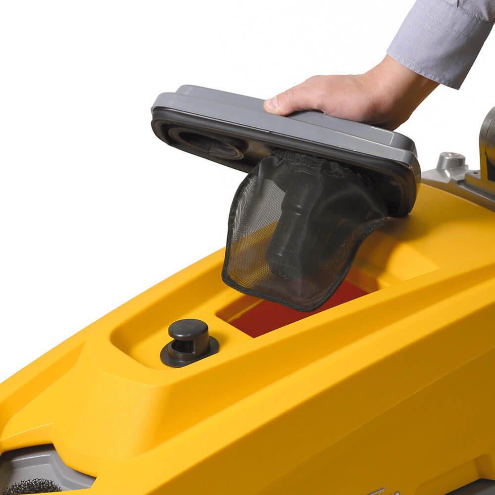 fregadora industrial traccion manual