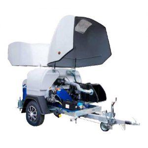 JTR-H 30/500 - equipo de alta presión agua fría con remolque