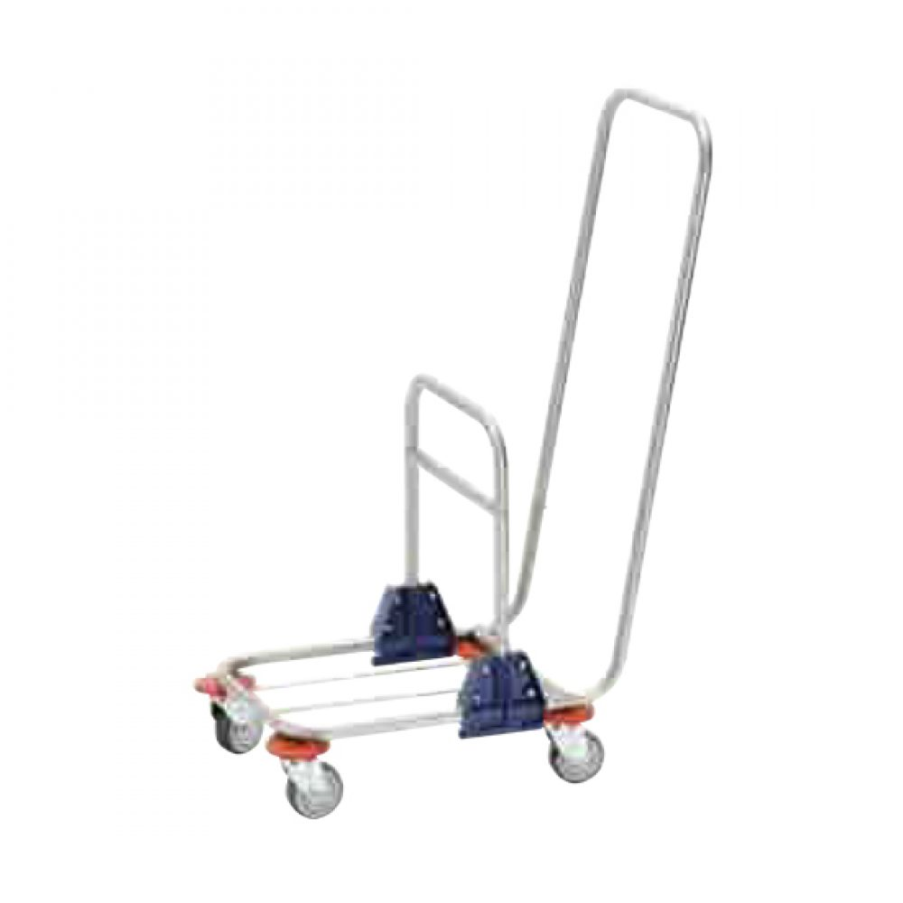 Carro de fregado con chasis de inoxidable | Modelo 490/S