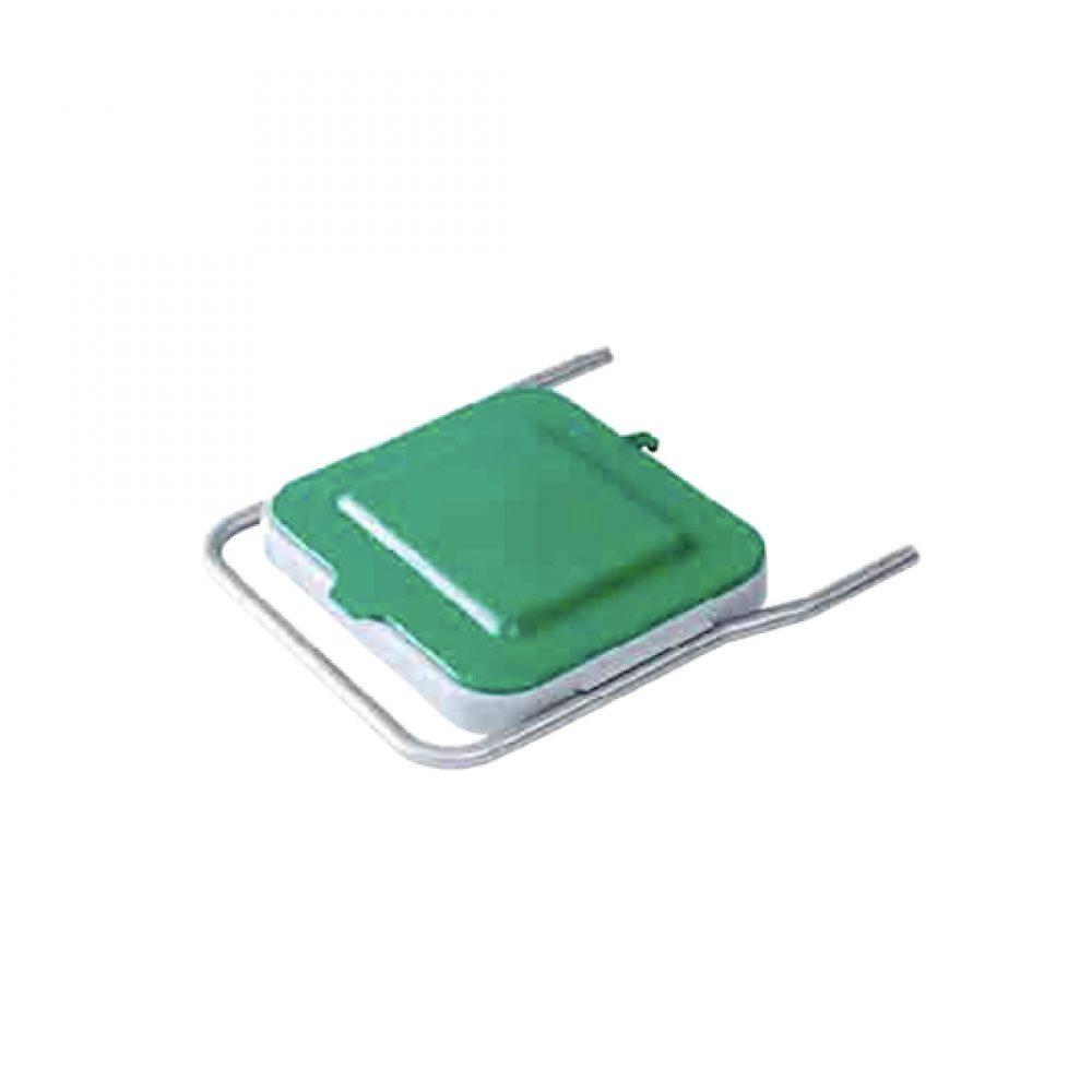 Soporte para bolsa en carro de limpieza industrial Modelo Asa F