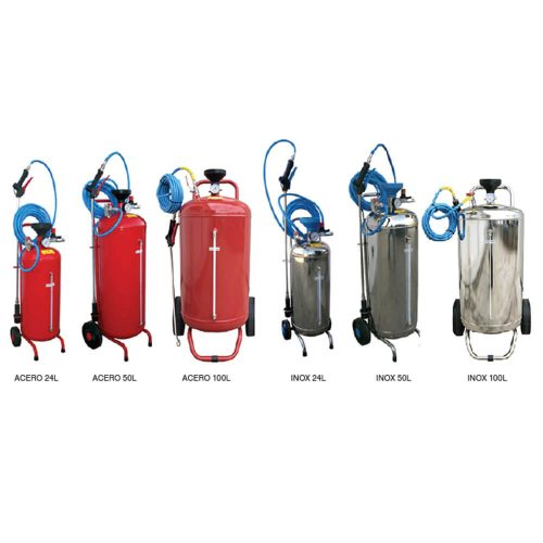 Pulverizador de espuma con depósito de presión | Nebulizador