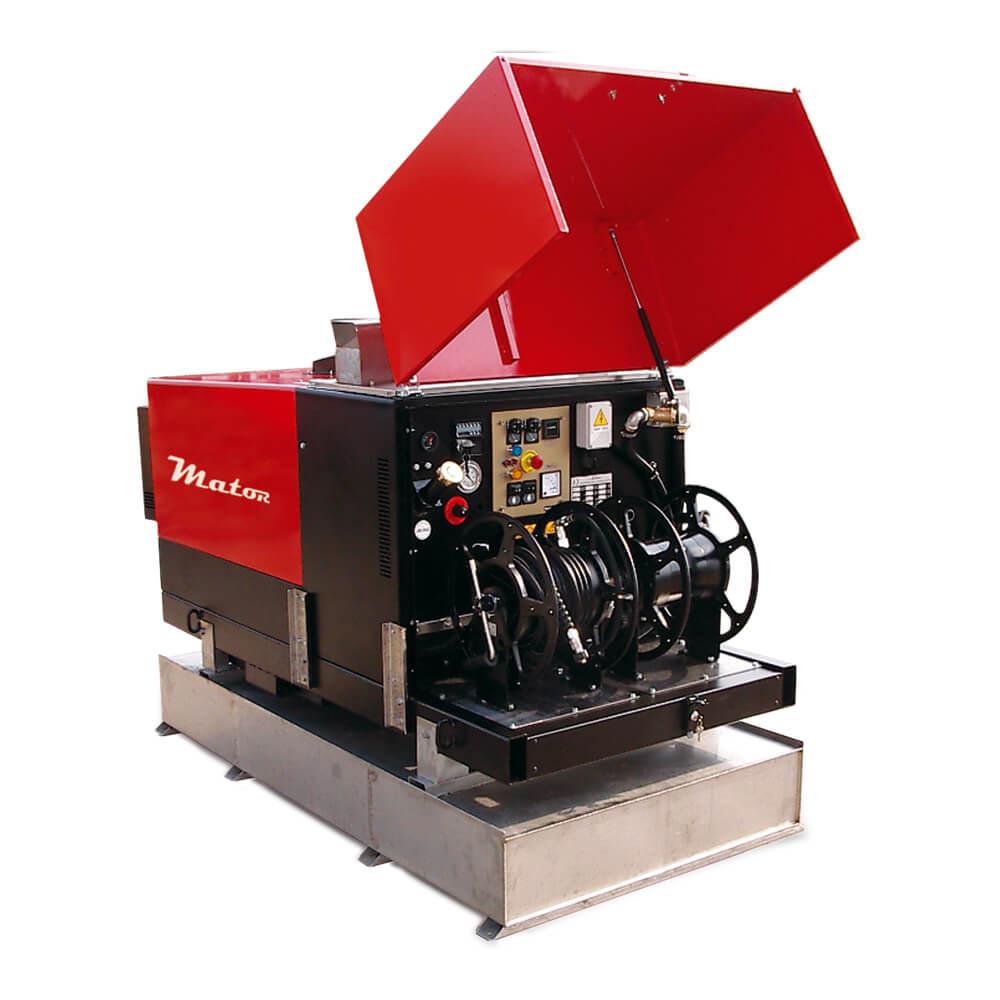 TRAILER - Equipo de alta presión con nagua caliente