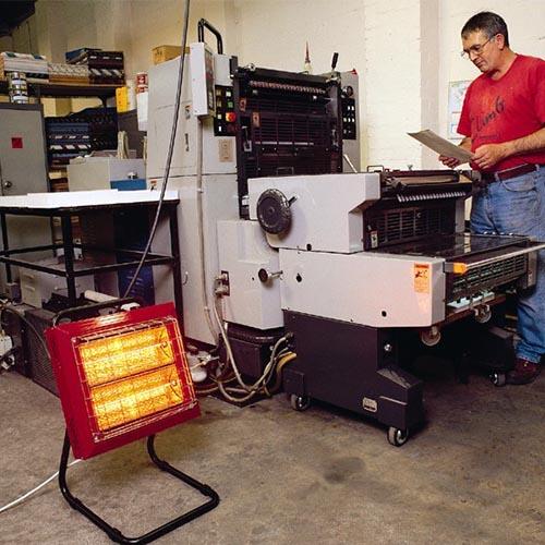 Calefacción eléctrica estufa beaver