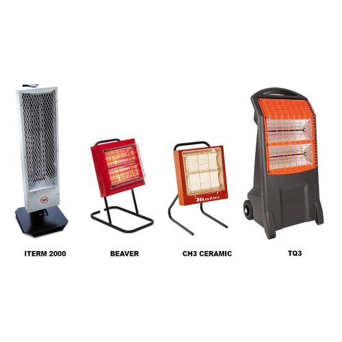 Calefacción eléctrica por rayos infrarrojos