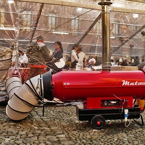 aerogenerador carpa conducto
