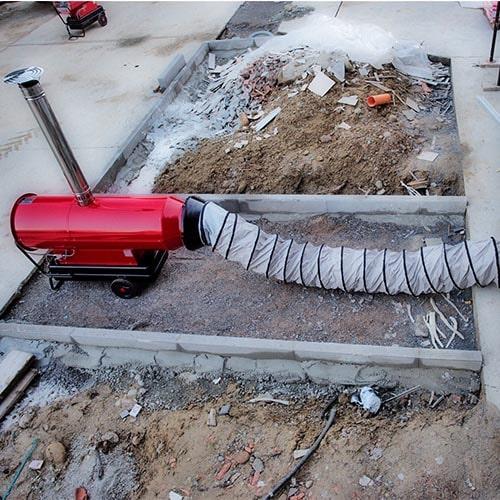 Generadores de aire caliente diesel
