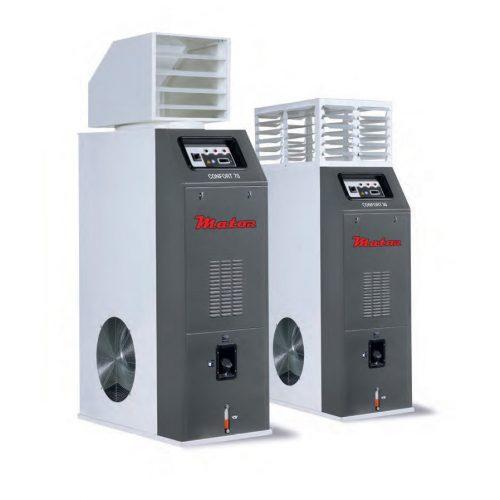 Generadores de aire caliente - Grandes volúmenes CONFORT