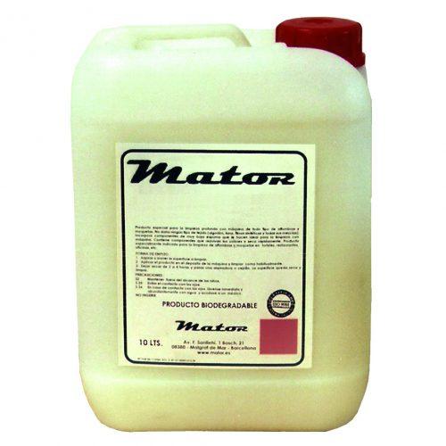 Limpiador desengrasante clorado