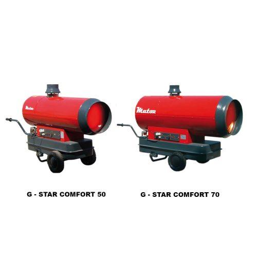Generadores de aire caliente G-STAR COMFORT