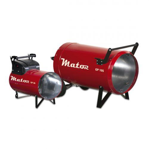 Generadores de aire caliente a gas