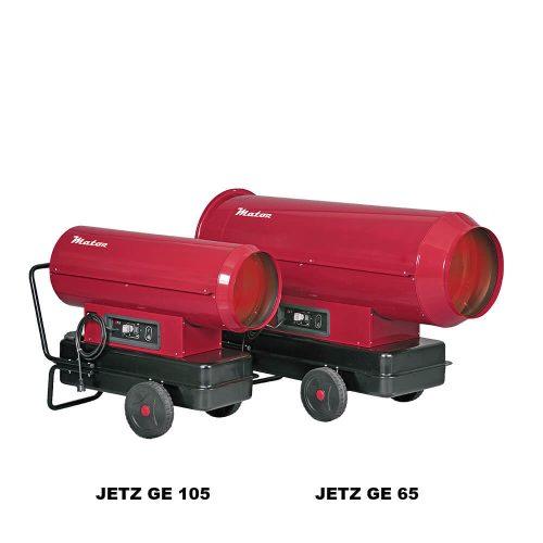 Generadores de aire caliente JETZ GE
