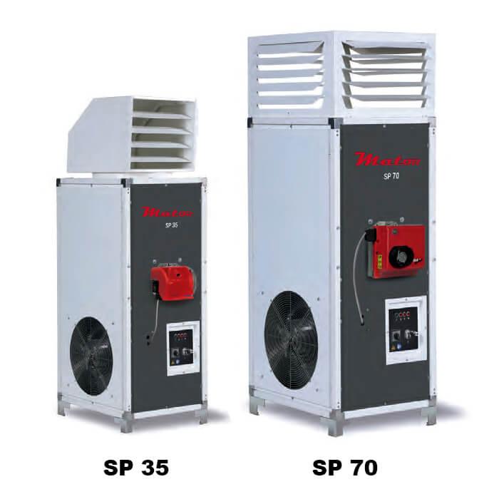 generadores de aire caliente diesel gas