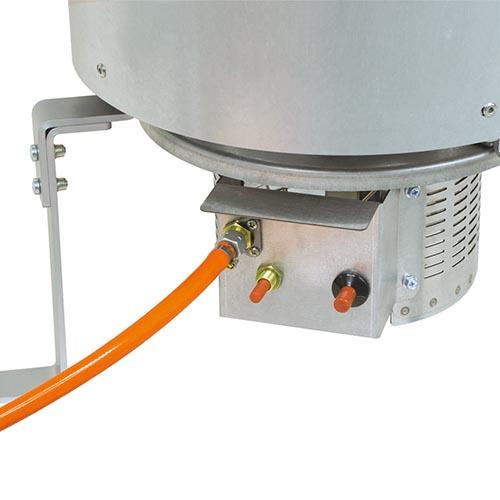 Calefactor a gas GW tubo gas 5 m