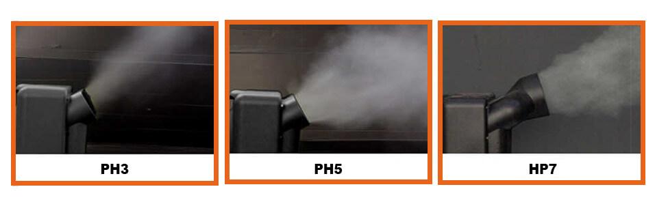 Humidificadores de aire / atomizadores PH