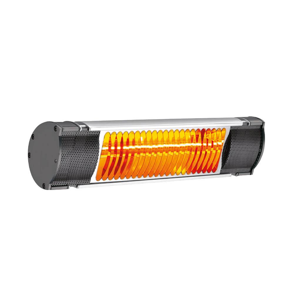 Calefacción lámparas de cuarzo IK- 1.5kw