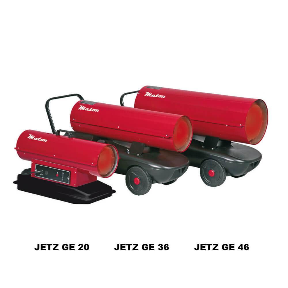 generador aire caliente diesel