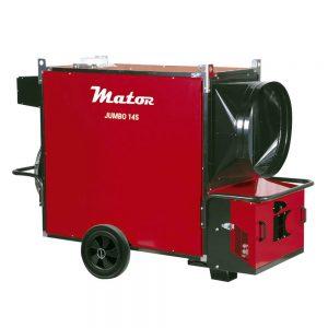 JUMBO Generadores de aire caliente para Grandes volúmenes