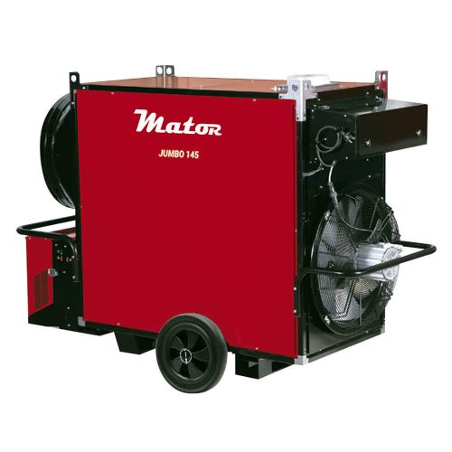Generadores de aire caliente para grande espacios