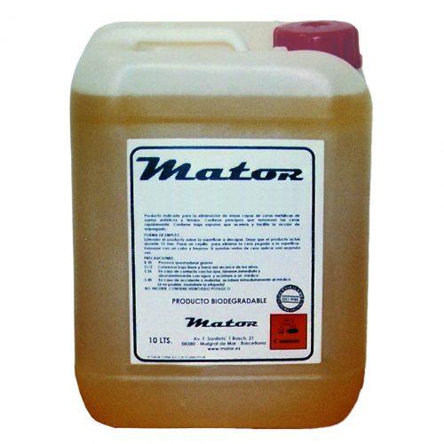 Producto químico detergente DETERMATOR Neutro