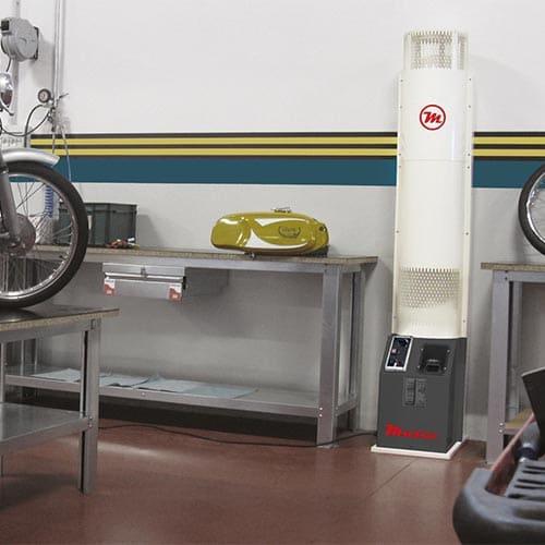 generador calefacción vertical
