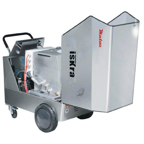 Hidrolimpiadora de agua caliente eléctrica fija y móvil 120bar - 240L/h iskra-pral-1
