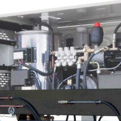 Hidrolimpiadora agua caliente puesto fijo desde 150bar - 900L/h