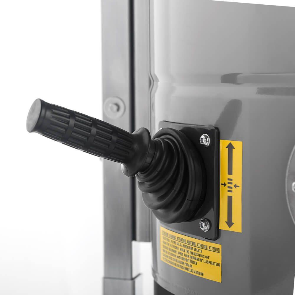 Aspirador industrial sacudidor-filtro-manual