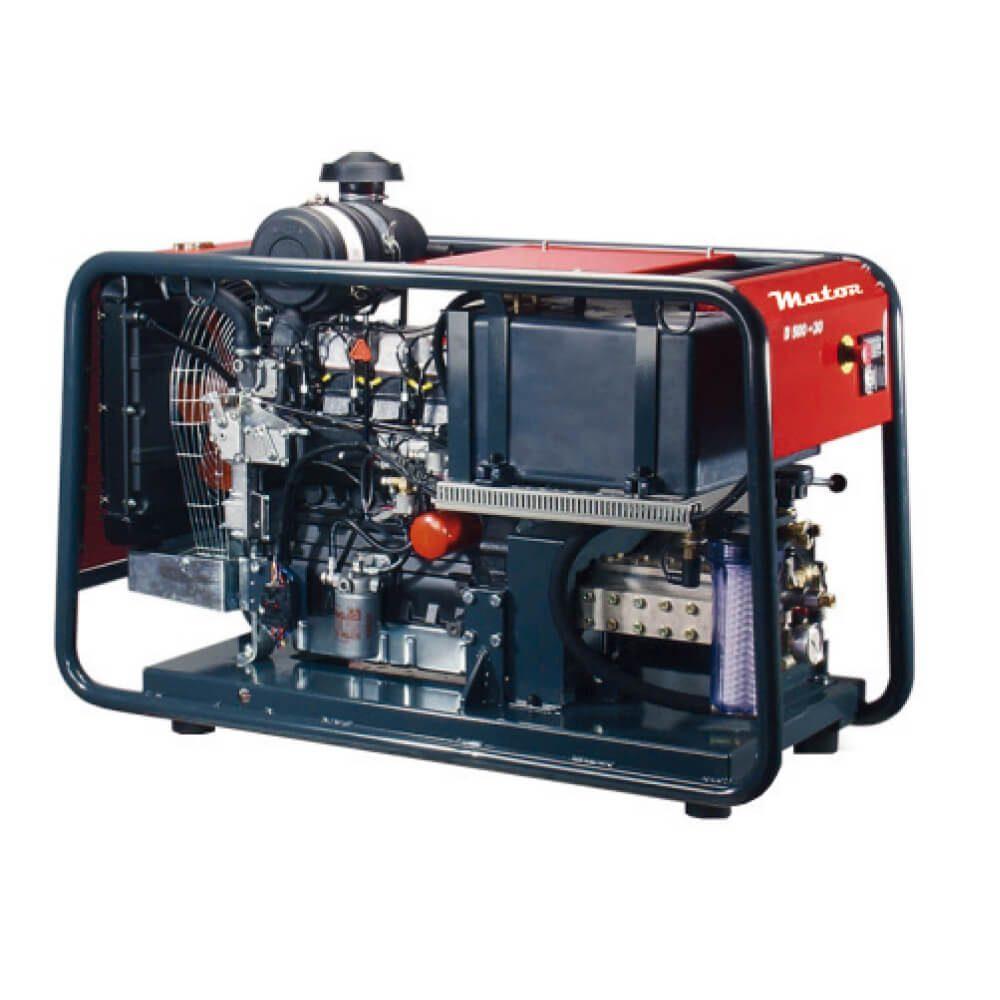 Hidrolimpiadora de alta presión a motor 500bar - 1.000L/h serie-d-version-estatica