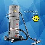 Aspiradores con certificado Atex para atmósferas explosivas