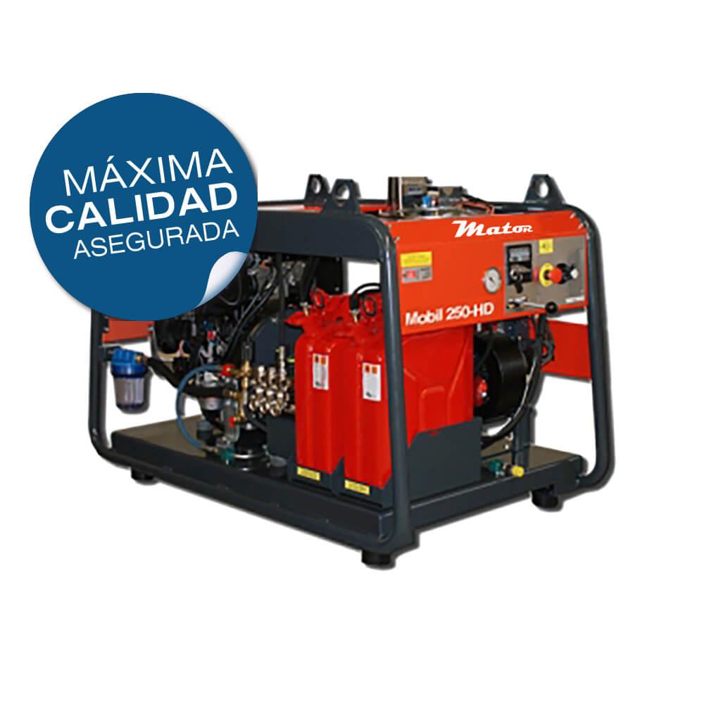 Equipo de alta presión 250bar - 1.440L/h