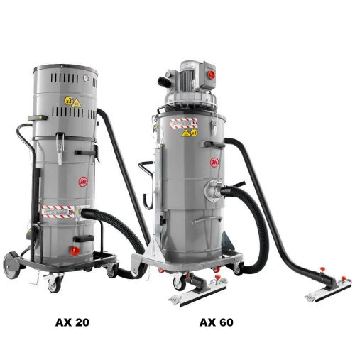 POWER INDUST AX Aspiradores industriales antideflagrante ATEX