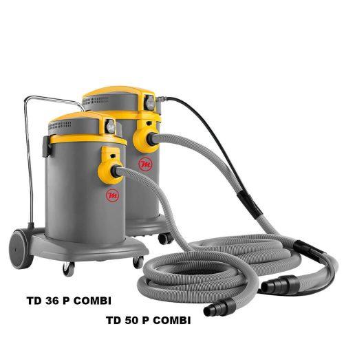 Aspiradores polvo-lìquidos con conexión herramientas eléctricas y herramientas neumaticas
