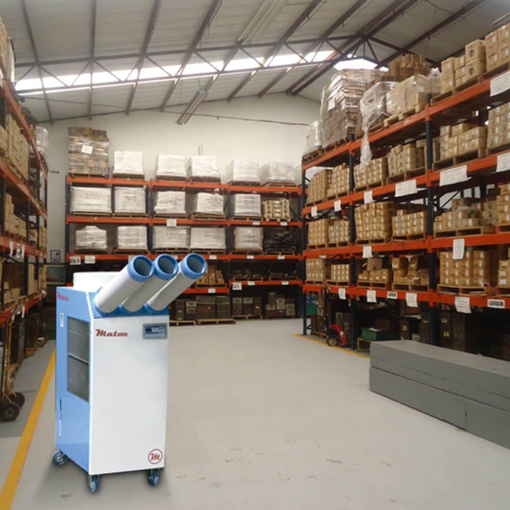 Spot Cooler almacén