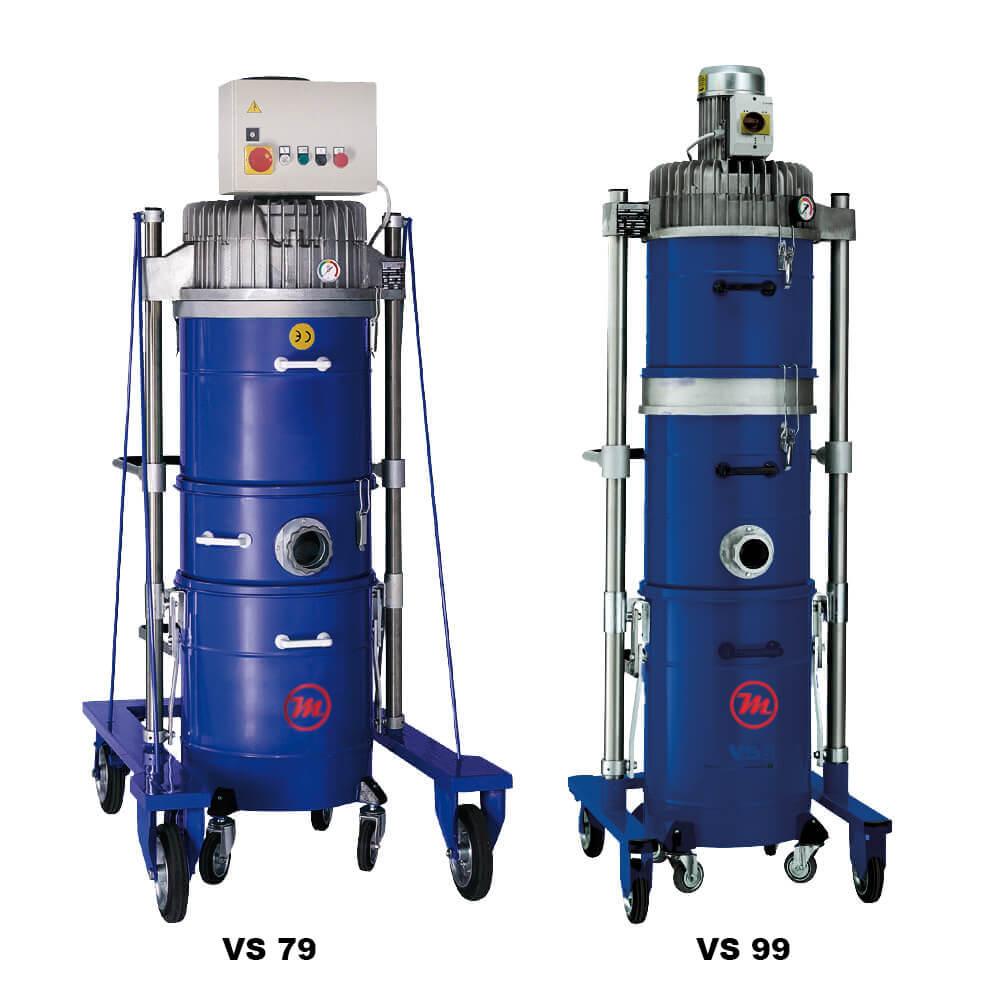 aspiradores industriales vs