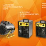 Nuevos aerotermos industriales eléctricos IFH y BGP