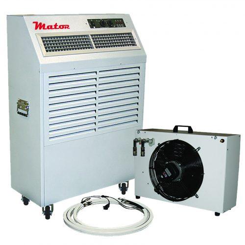 Aire acondicionado industrial portátil por agua refrigerada
