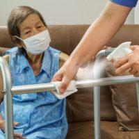 Protocolo de limpieza en residencias de ancianos