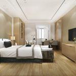 Limpieza habitacion de hotel