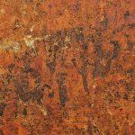 metal oxidado suelo