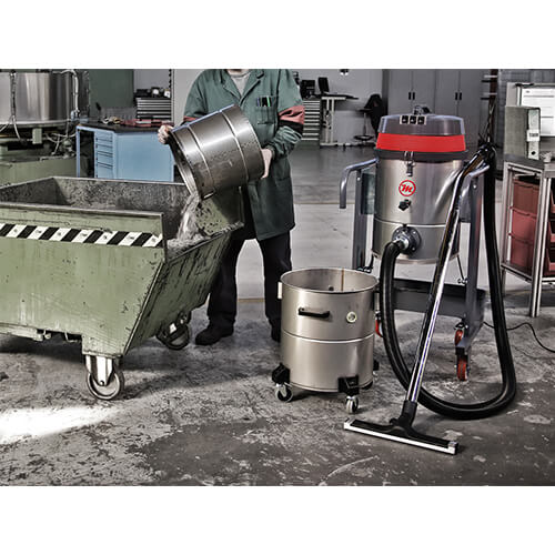 aspirador industrial contenedor