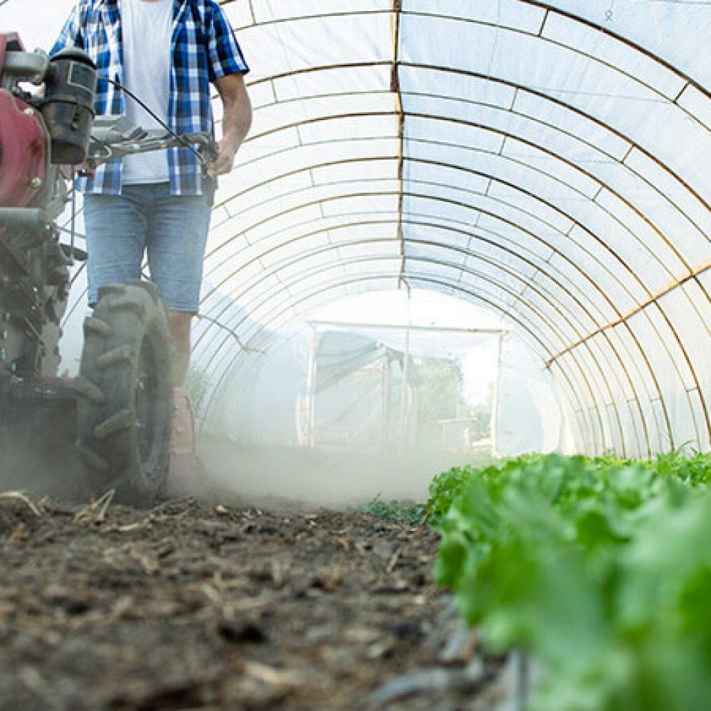 Aplicaciones de limpieza y climatización para agricultura y ganadería