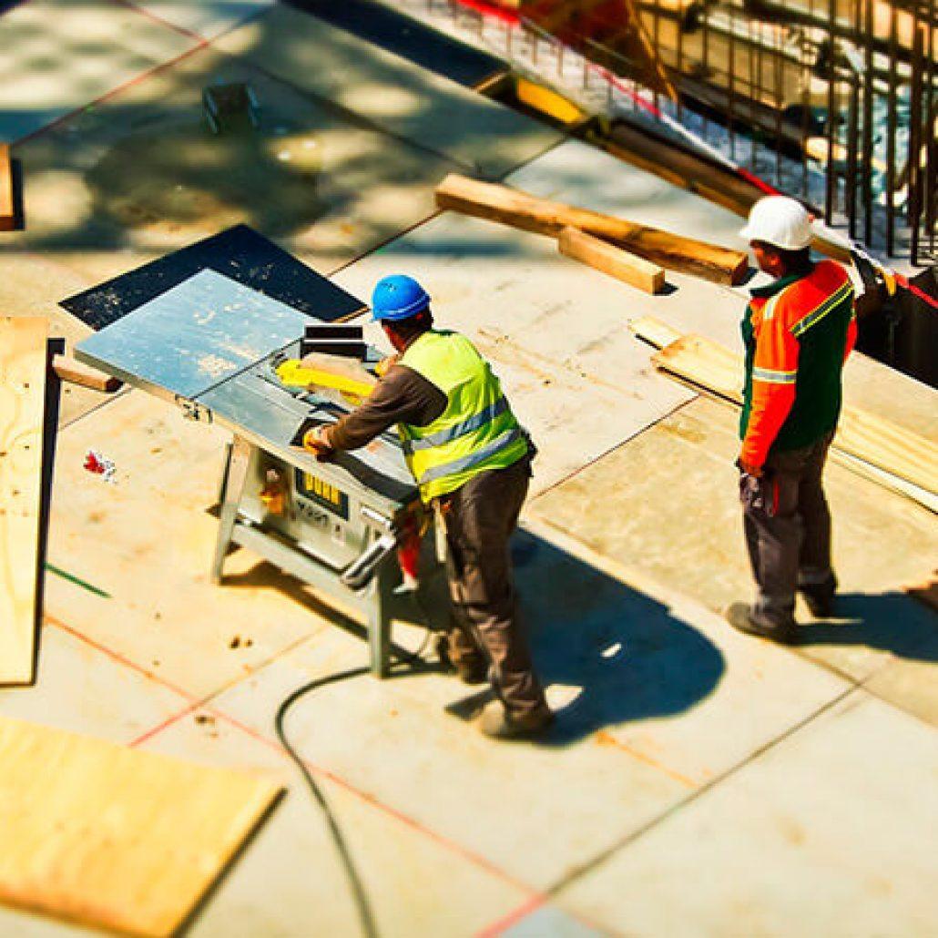 Aplicaciones de limpieza y climatización para construcción