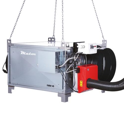 generador aire caliente grandes volúmenes farm